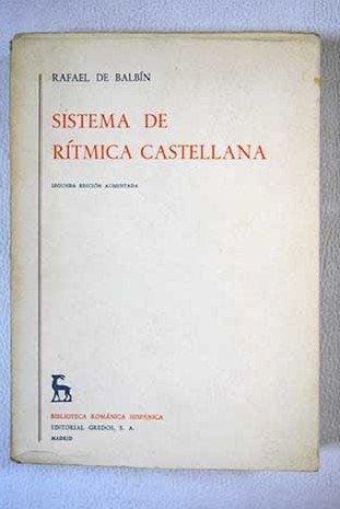 Sistema de ritmica castellana/Castilian Rhythmic System