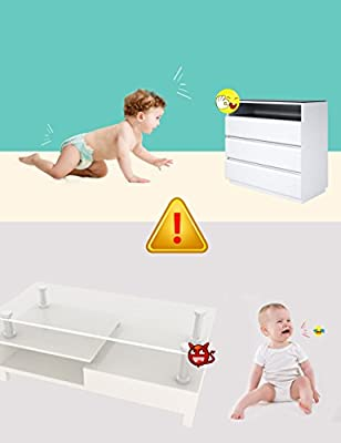 Regional Furniture Clear Corner Protectors | High Resistant Adhesive Gel | Best Baby Proof Corner Guards | Stop Child Head Injuries | Tables, Furniture & Sharp Corners Baby Proofing