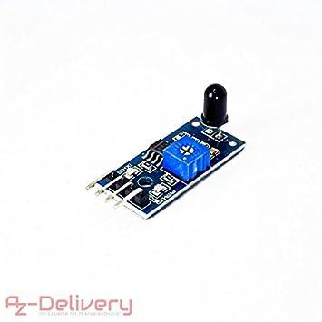 AZDelivery Juego de 3 IR llama Sensor para Arduino: Amazon.es: Informática