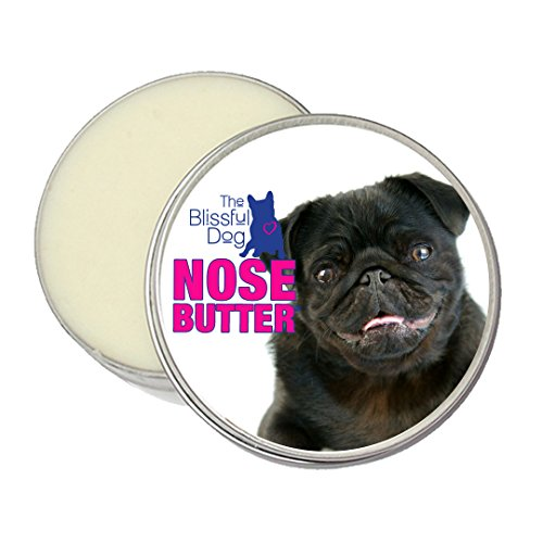 The Blissful Dog Black Pug Nose Butter, 2-Ounce by The Blissful Dog