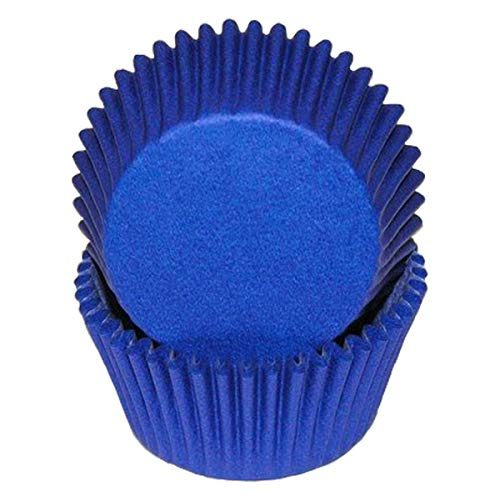 Blue Glassine Cupcake Muffine Baking Cups Liners by CK -