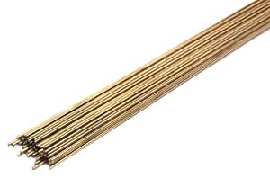 Forney 48305 Bare Brass Gas Brazing Rod, 3/32-Inch-by-36-Inch, 5-Pounds