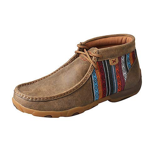 Twisted X Ladies Driving Mocs Bomber/Multi 10M