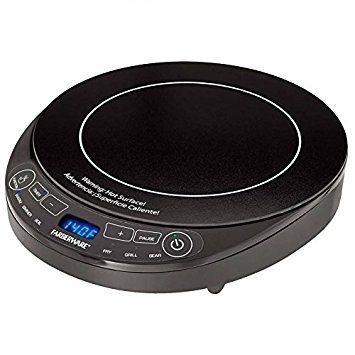 Farberware Multi- Function Induction Cooker Plus 9' Non-Stick Fry...