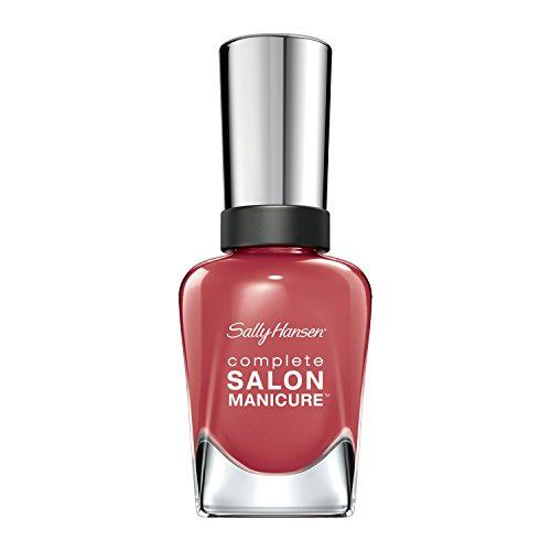 Scarlet Lacquer (Sally Hansen Complete Salon Manicure, Scarlet Lacquer, 0.5 Ounce)