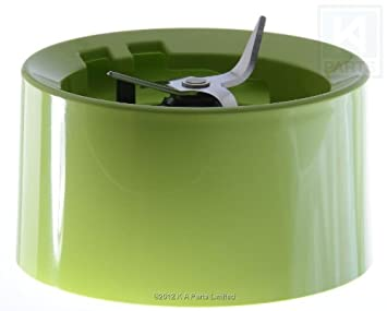 Base con cuchillas para batidoras KitchenAid color verde manzana (modelos KSB555, KSB565, etc).: Amazon.es: Hogar