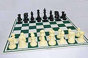 Speedy Chess Professional Tournament Chess Board Game Fide-Standards with Chessmen (17×17, 32 Pieces)