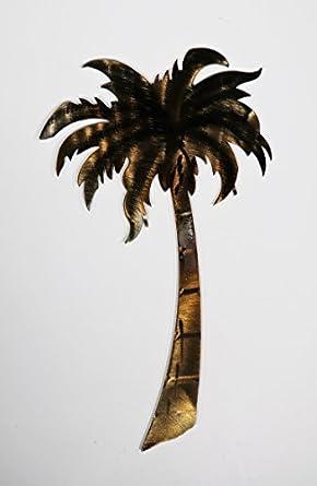 Amazoncom Palm Tree Metal Wall Art Lg Industrial Scientific