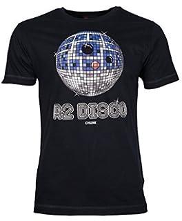 4f27caffa Chunk Mens White R2 D2 Disco Star Wars T Shirt from: Amazon.co.uk ...