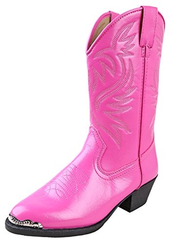 Smoky Mountain Boots Children Girls Mesquite Hot Pink