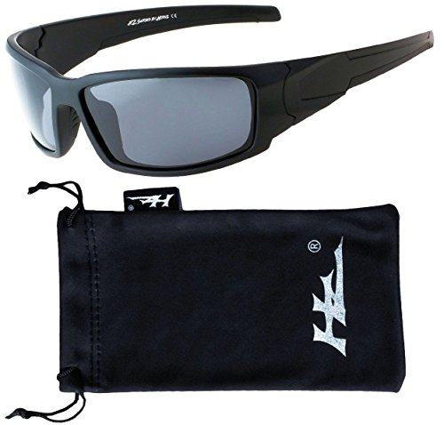 Polarized Sunglasses for Men - Premium Sport Sunglasses - HZ Series - Wrap Sunglasses Mens