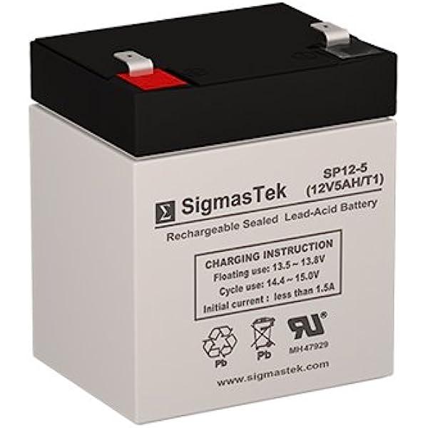 12V 5Ah F1 SLA Replacement Battery for Tekonsha 2028