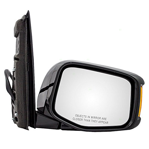 Passengers Power Side View Mirror Heated Memory Signal Replacement for Honda Odyssey Van ()