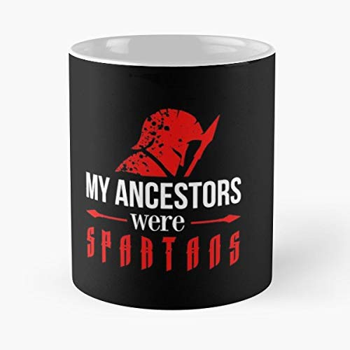 (Spartans Greek Greece Sparta Funny Floral Coffee Mugs Gifts)
