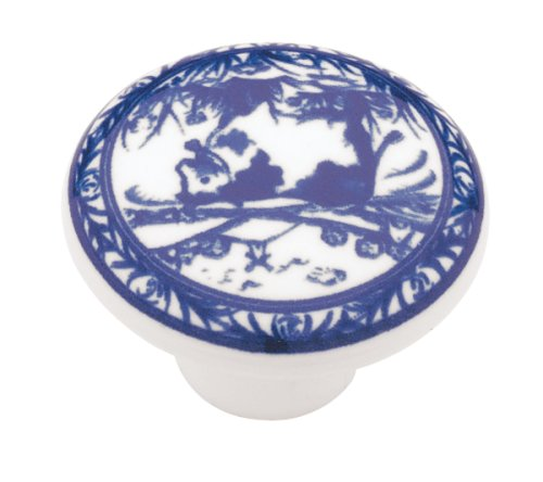 liberty pn0813vwbc delft blue china pattern cabinet hardware knob cabinet and furniture knobs amazoncom