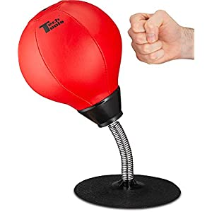 Tech Tools Stress Buster Desktop Punching Ball 8