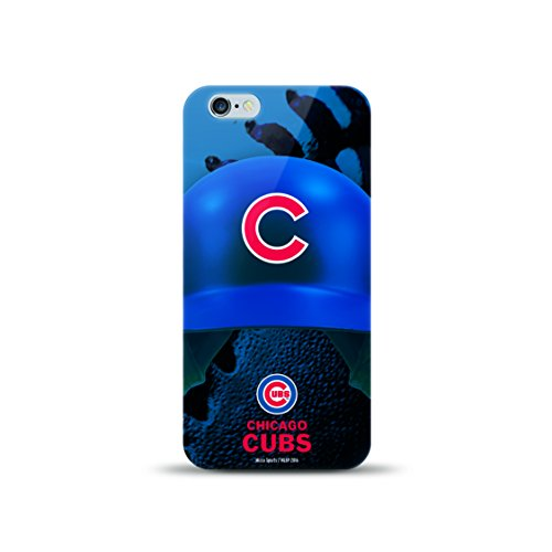 (MIZCO SPORTS Helmet Case for iPhone 6 Plus/6s Plus - MLB Chicago Cubs )