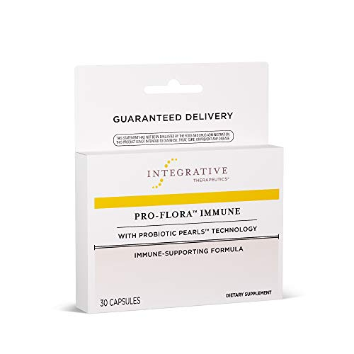 Integrative Therapeutics - Pro-Flora Immune with Patented True Delivery Technology - Immune System Support with Lactoferrin - Once Daily Dosage - Shelf Stable - Survives Stomach Acid - 30 Count