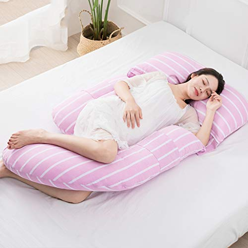 - Cozy Bump Pregnancy Pillow Pregnancy Body Pillow,U-Shape Full Body Pillow and Maternity Support with Detachable Extension - Support for Back Hips Legs Belly (Color : Lavender)