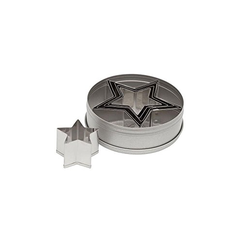 Ateco 7805 Plain Star Cutter Set (6 Piece)