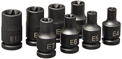 Grey Pneumatic 998ET Impact Socket Set