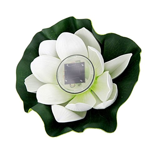 Used, MagiDeal 5 Types Outdoor Solar Power 7 Color LED Flower for sale  Delivered anywhere in USA