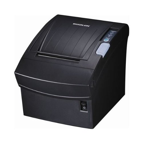 "Bixolon SRP-350II Monochrome Desktop Direct Thermal Receipt Printer with USB interface, 7.87 in/s Print Speed, 180 dpi Print Resolution, 3"" Print Width, 24 VDC, Black"