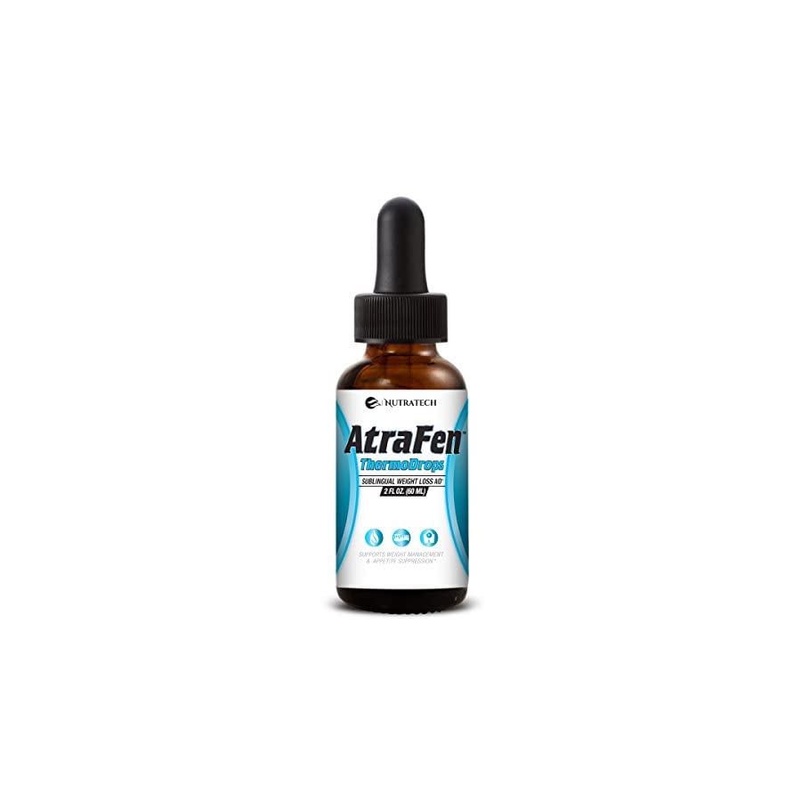 Atrafen Thermodrops – Enhanced Sublingual Diet Drops Burn Fat, Suppress Appetite, and Provide All Day Energy!