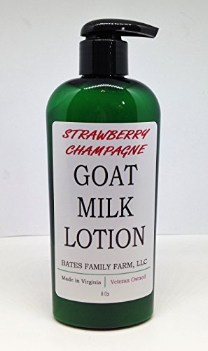 - Bates Family Farm Goat Milk Lotion (Strawberry Champagne Fragrance)