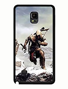 Assassins Creed Design Attractive Theme Game Samsung Galaxy Note 4 Drop Proof Case yiuning's case