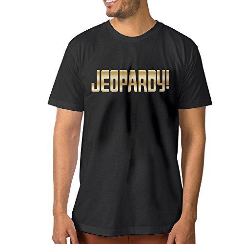 jeopardy-gold-logo-black-mens-t-shirts