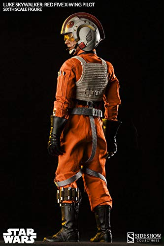 Sideshow Star Wars Episode IV A New Hope: Luke Skywalker Red-Five X-Wing Sixth Scale 12'' Action Figure Exclusive Version by Sideshow (Image #2)