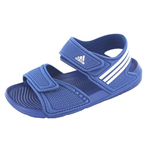 adidas Akwah 9 C, Chaussures de Plage et Piscine Mixte enfant Bleu