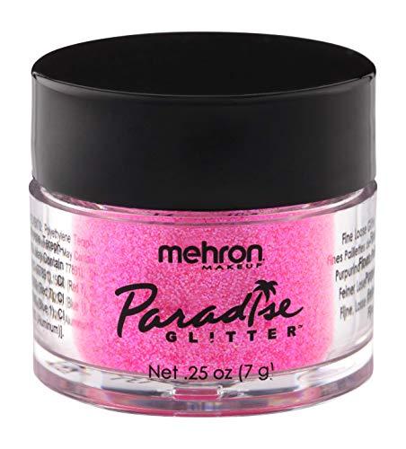 Mehron Makeup Paradise AQ Glitter (0.25 oz) (PASTEL PINK)