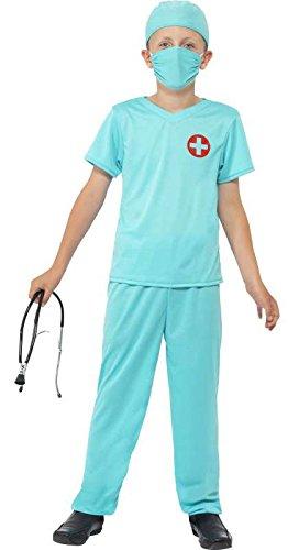 Costume enfant chirurgien taille m - 7/9 ans