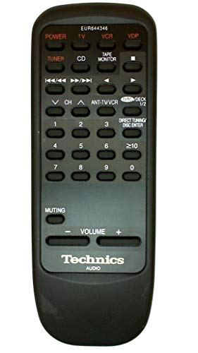 Technics EUR644346 Audio Video Remote Control (Audio Technics)