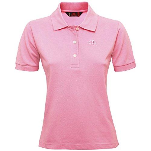 Art shirt Stretch Piquet Robe T Kappa Rosa Sport Di Donna Polo Mare Maglia Golovin wq6PI