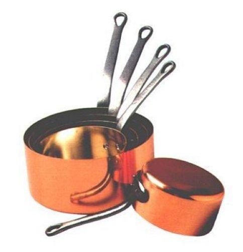 Baumalu - 201020 - Copper saucepan set 12 to 20 cm special gas