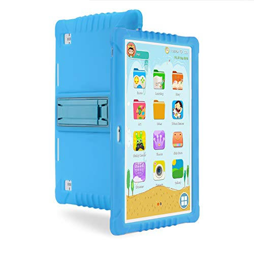 SANNUO Kids Tablet 10.1 inch,Kids Mode Pre-Installed,Quad Core Processor,1GB+16GB,Dual Camera 2+5MP,with Learning Gaming app and Google Play.