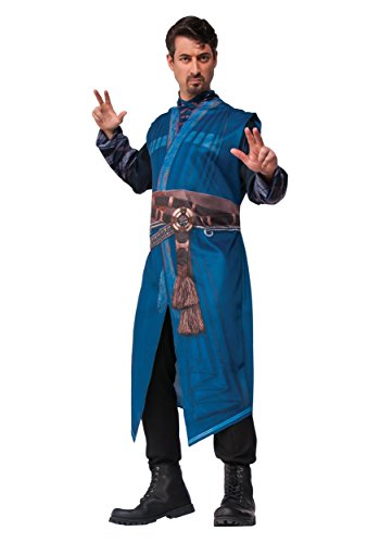 Men's Doctor Strange Costume Robe, Blue, Standard