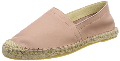 Leather Pskatie Rose Rose Femme english Espadrille Pieces qO5px
