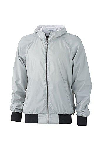 Men's E Per Libero Tempo Silver Il black Jacket Promozione Giacca Sportiva Sports q5CX00