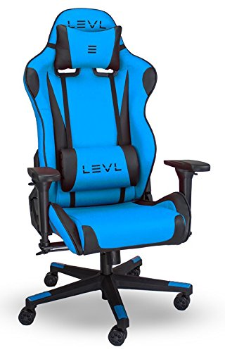 LEVL Alpha Series S Gaming Chair Office Chair Heavy Duty with Neck and  sc 1 st  Amazon.com & Amazon.com: LEVL Alpha Series S Gaming Chair Office Chair Heavy ...