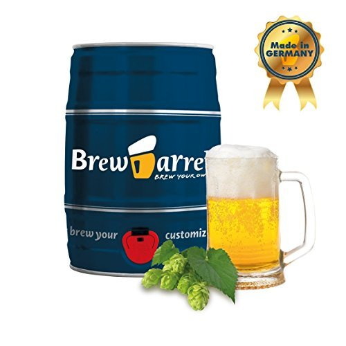 Home Beer Brewing Starter Kit - Original German Lager Beer - brew beer in just 1 week