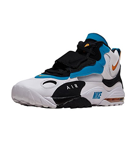 NIKE Uomo White Max Indstrl 001 Scarpe Black Multicolore Turf da Orange Ginnastica Air Speed Basse r8vRqrZ