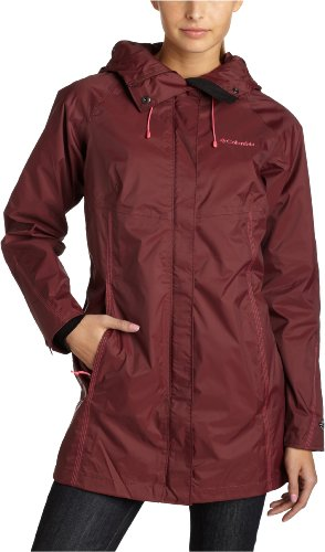 Columbia Women's Rambling Rhodie Rain Jacket,Seminole,Large