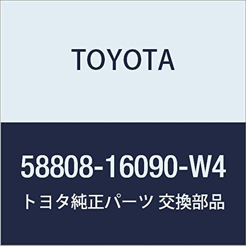 Toyota Genuine 58808-16090-W4 Shifting Hole Cover Sub Assembly