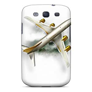 DaMMeke Premium Protective Hard Case For Galaxy S3- Nice Design - Airplane