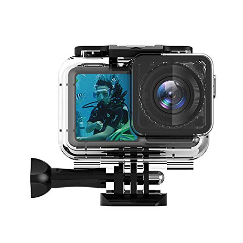 Price comparison product image MChoiceNew Sports Camera Waterproof Housing Case Shell Diving 60M for DJI Osmo Action Black