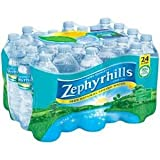 ZEPHYRHILLS WATER BOTTLED DRINKING 16.9 OZ BOTTLES 24 PACK